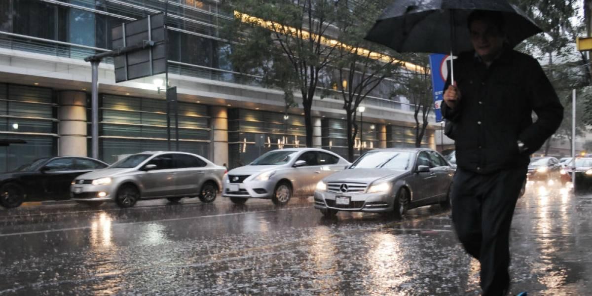 Activan alerta amarilla en seis delegaciones por fuertes lluvias