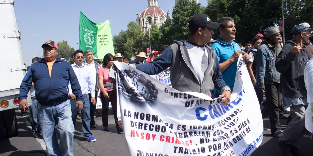 Concentraciones y marchas afectarán vialidades en la CDMX