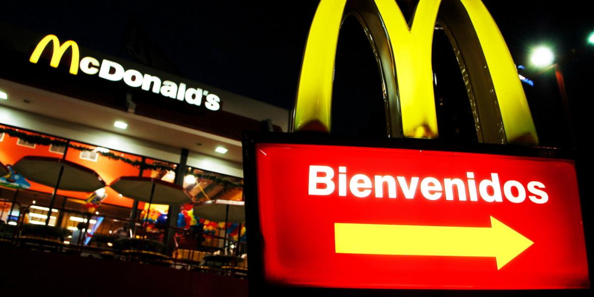 La tarjeta con la que usted podría comer gratis de por vida en McDonalds