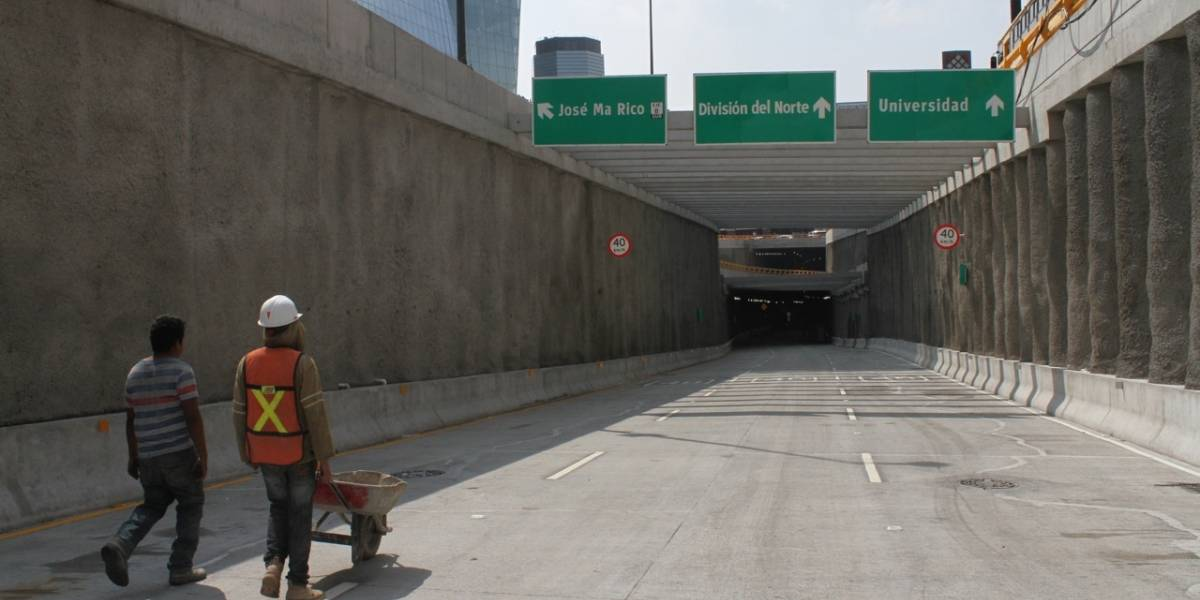 Estiman que túnel de Mixcoac duplique velocidad
