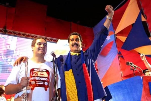 Nicolás Maduro hijo