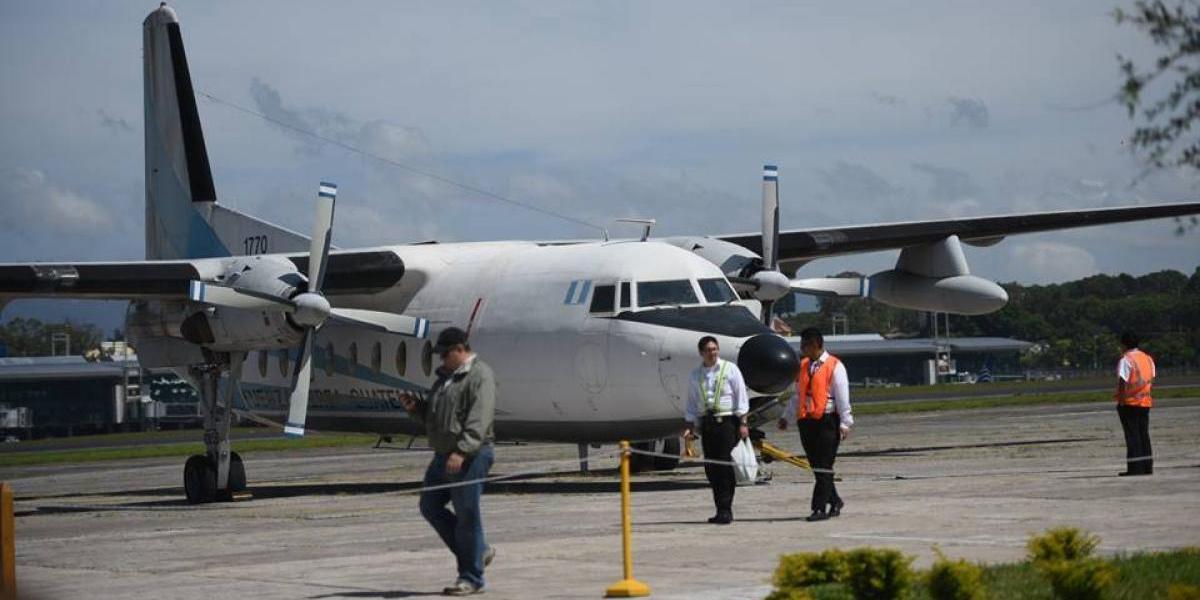 ¡Alerta terrorista!, simulacro del secuestro de un avión se realiza en la Fuerza Aérea