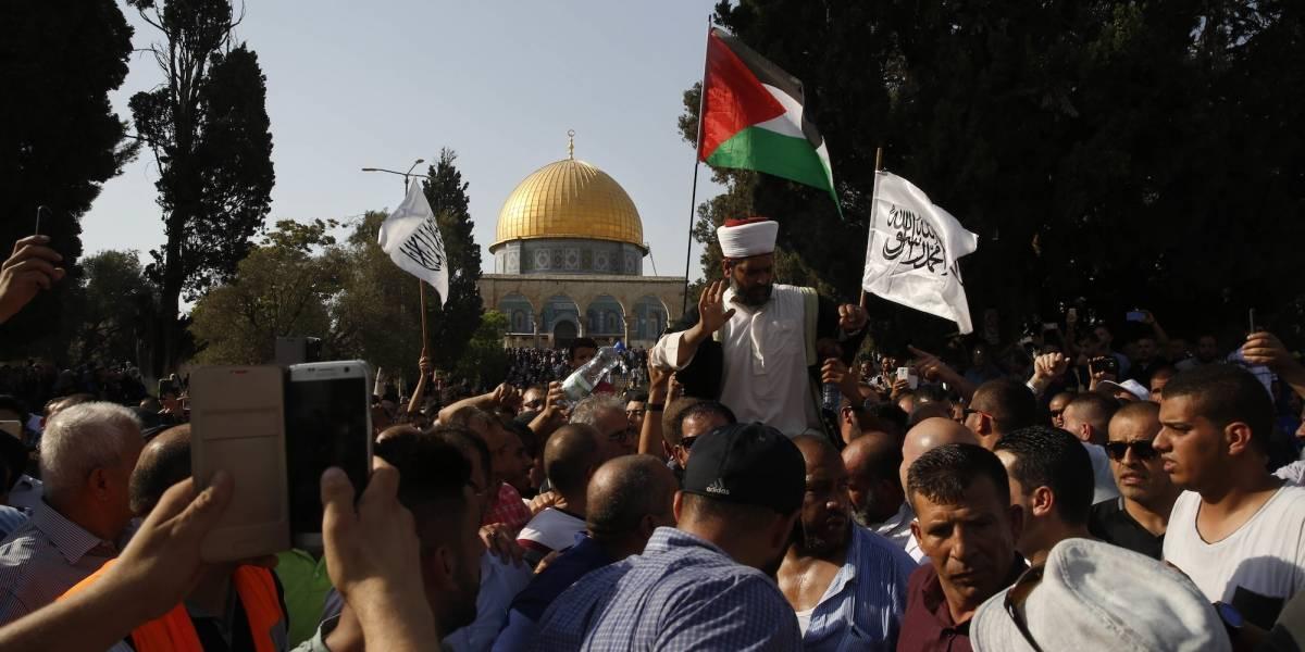 Estallan enfrentamientos en Jerusalén