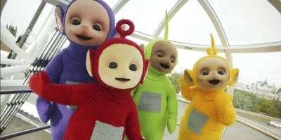 Los Teletubbies tuvieron bebés y se llaman Tiddlytubbies