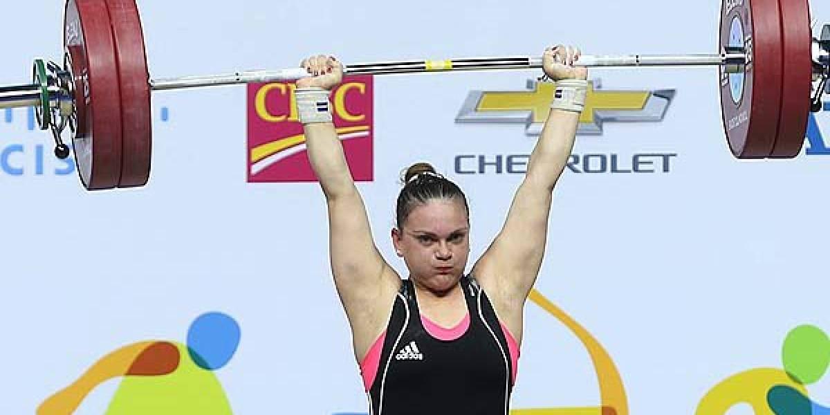 Dos oros y una plata para María Fernanda Valdés en el Panamericano