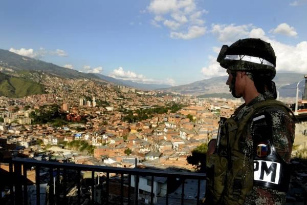 Homicidios Medellín comuna 13
