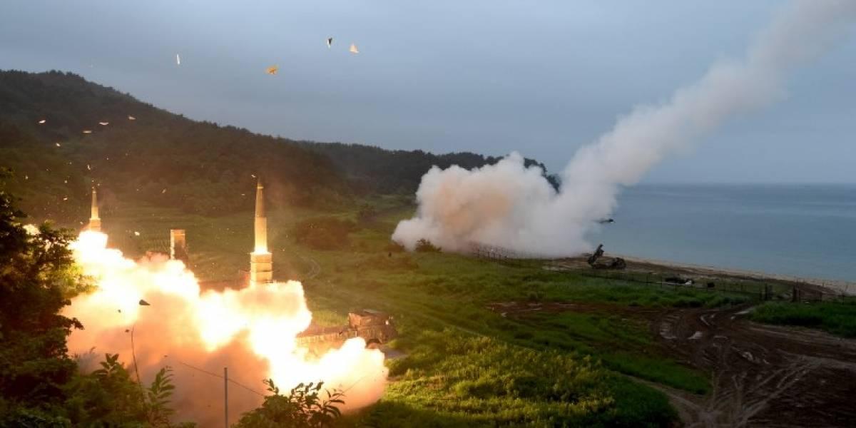 Washington y Seúl realizan ensayos de misiles como respuesta a Pyongyang