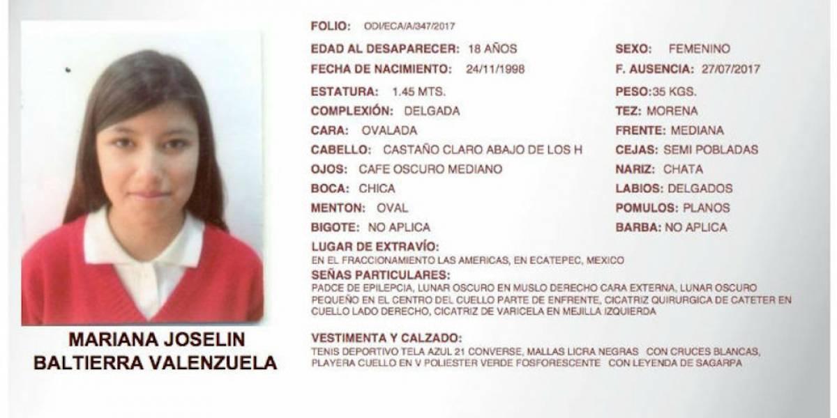 Hallan cuerpo apuñalado de joven desaparecida en Ecatepec