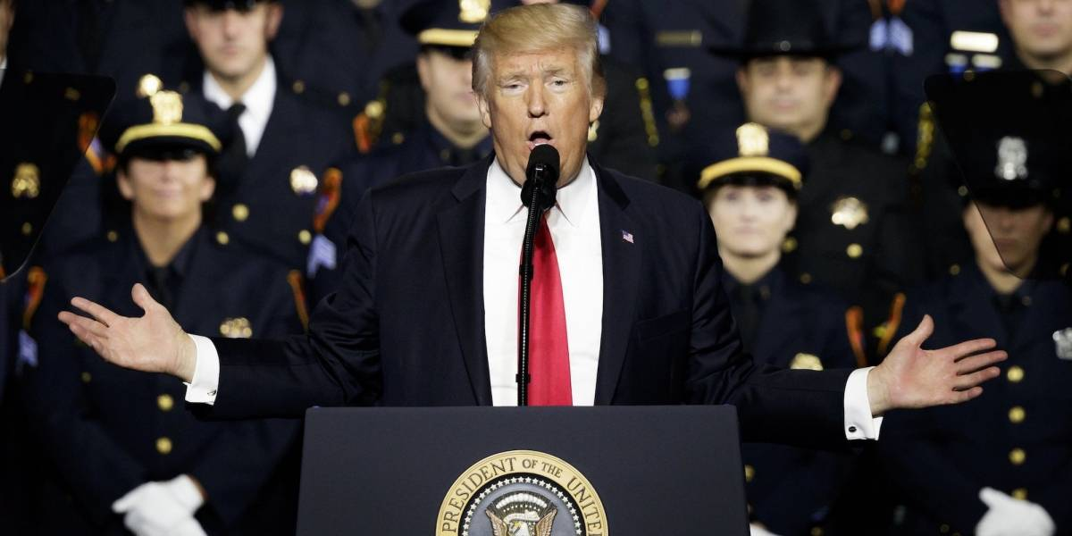 Trump promete destruir la banda criminal MS-13