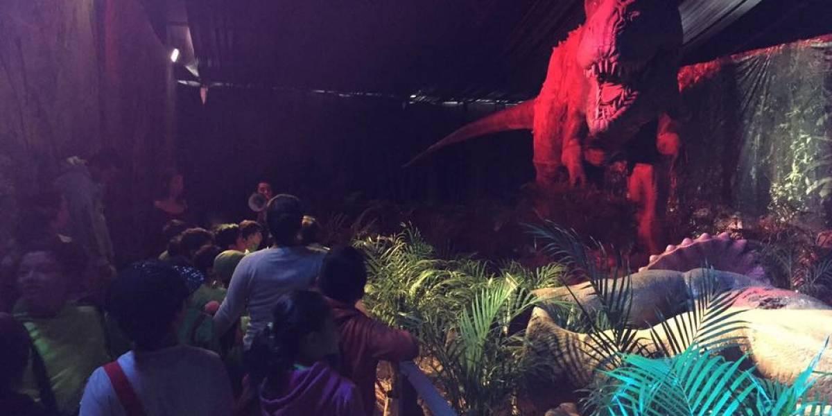 Vive la emoción de viajar al pasado con Dinosaurios Animatronics