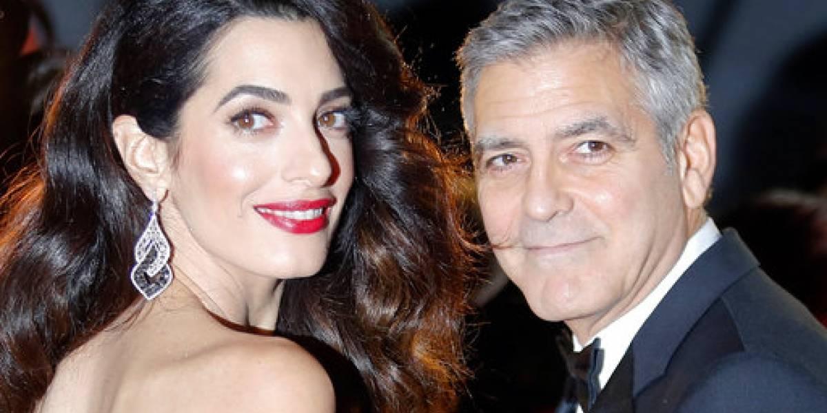 George Clooney amenaza con tomar medidas por fotos de sus mellizos
