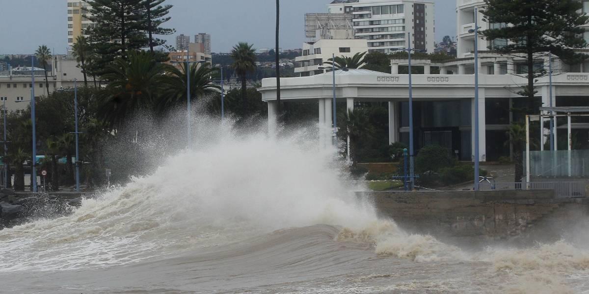 Armada alerta sobre peligro de marejadas en costas de Chile
