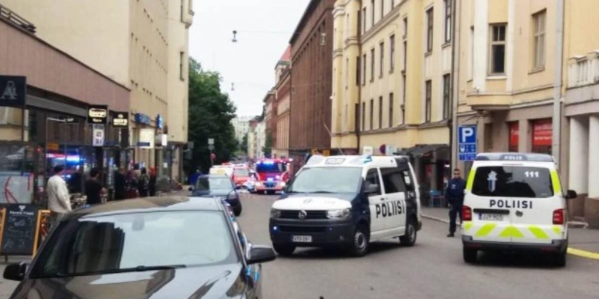 Un muerto y varios heridos por el atropello de un camión a una multitud en Finlandia