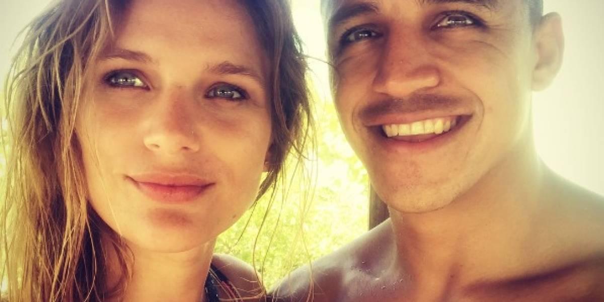 """""""Llegaste con luz"""": El romántico mensaje de Mayte Rodríguez a Alexis Sánchez"""