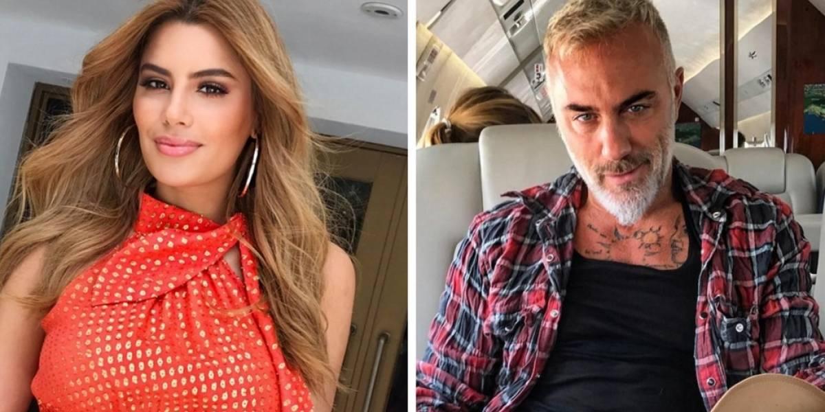 ¿Crisis entre Ariadna Gutiérrez y Gianluca Vacchi por terceros?