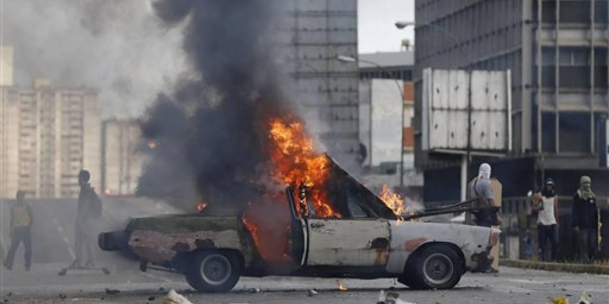 Protestas en Venezuela suman 103 muertos