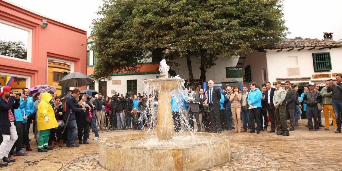 Después de 31 años, el Chorro de Quevedo fue intervenido nuevamente