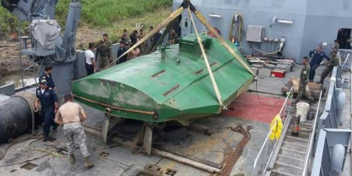 El último invento de los narcos: Colombia incauta un submarino eléctrico para transportar cocaína