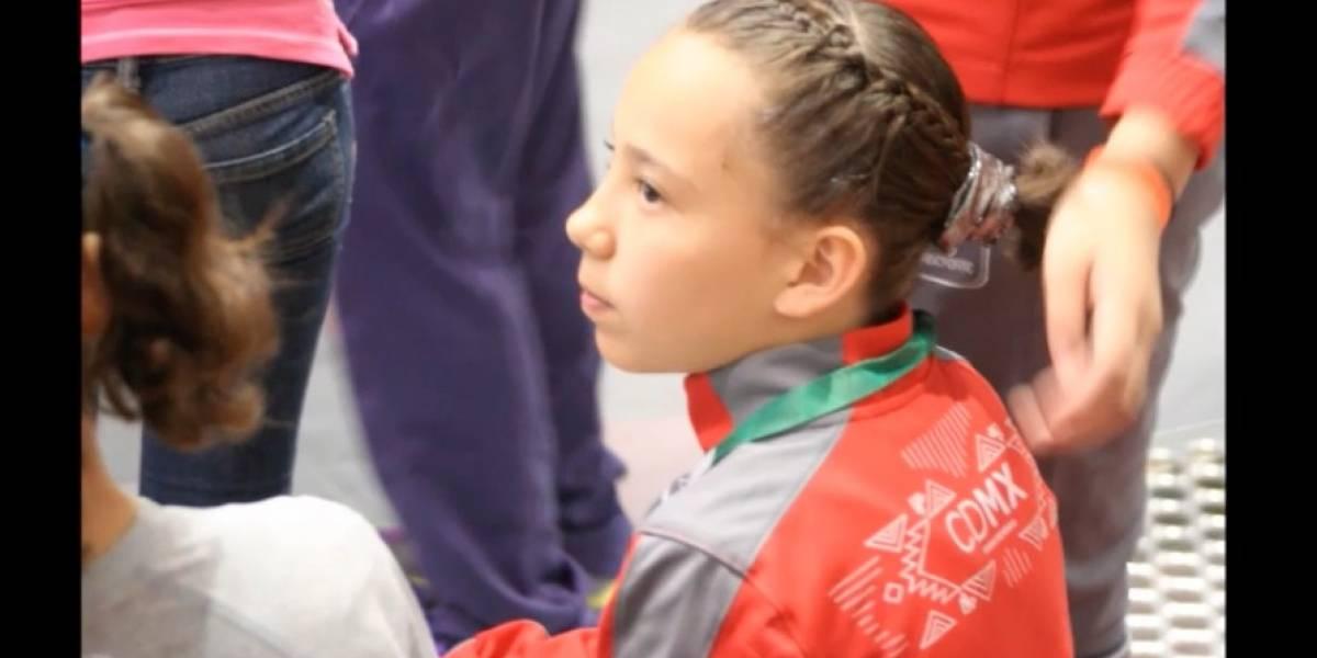 Conade explica por qué no puede llevar a Emilia Becerril al Mundial de Gimnasia