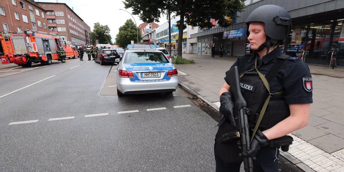 Hamburgo: un muerto y varios heridos tras un ataque con machete