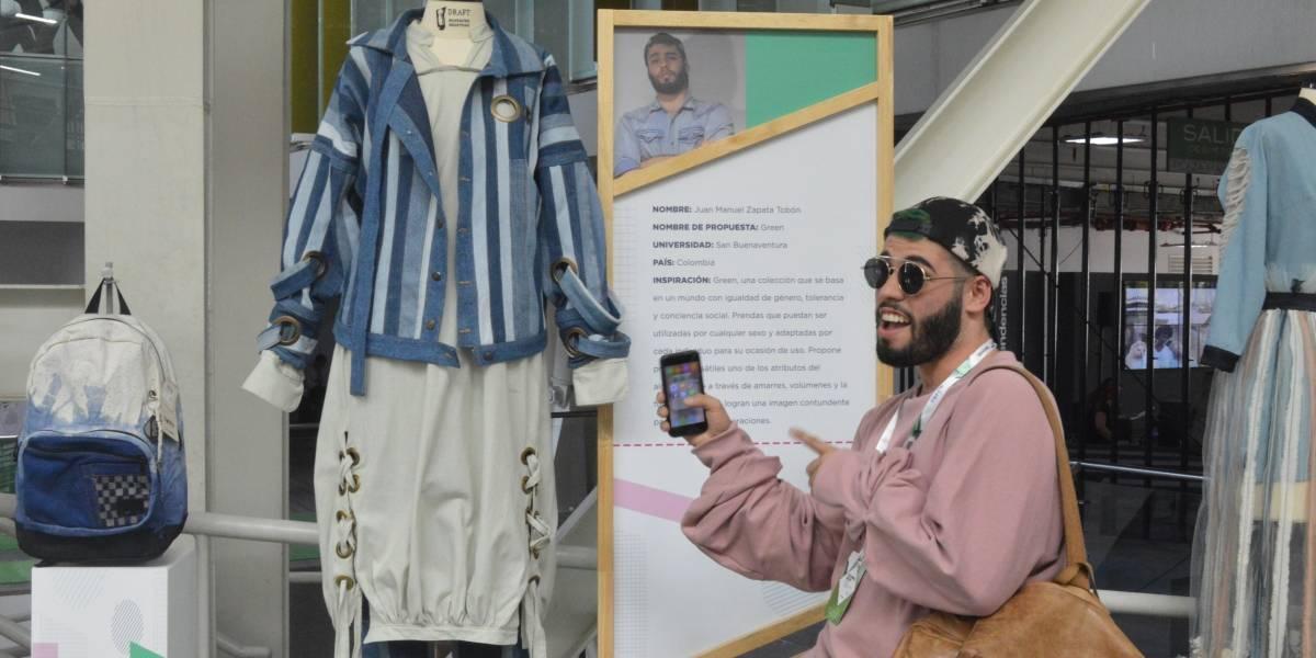 Juan Manuel Zapata, el caleño que ganó concurso latinoamericano de moda