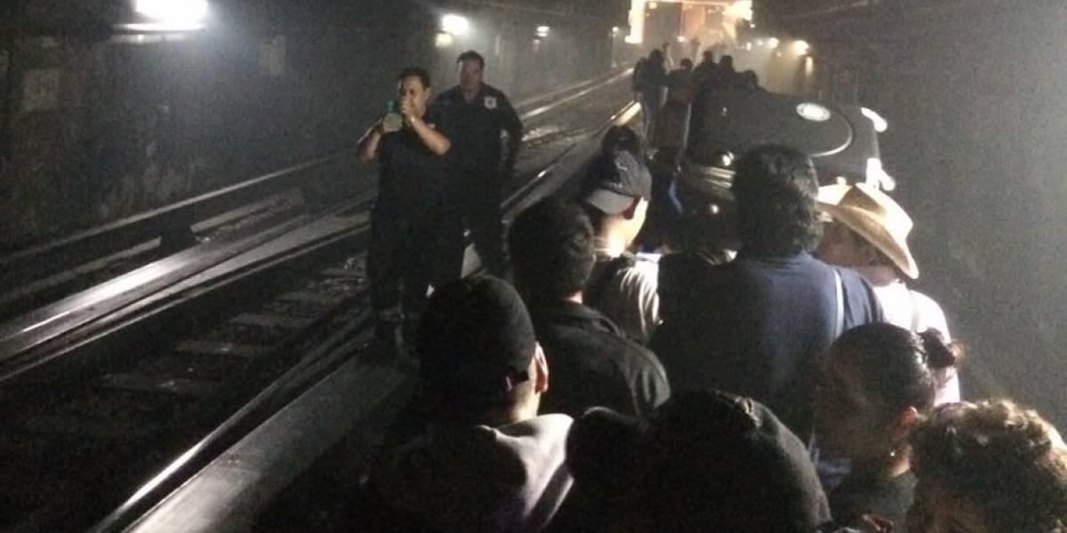 Dan de alta a personas hospitalizadas tras corto circuito en Línea 1 del Metro