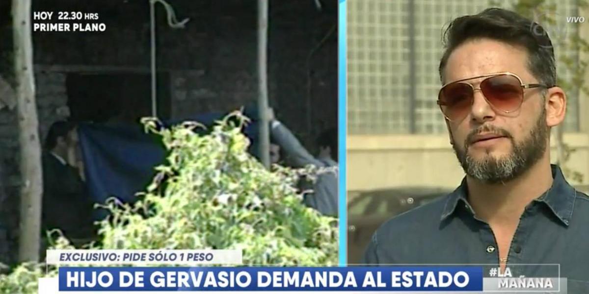 Las razones de la demanda del hijo de Gervasio contra el estado chileno