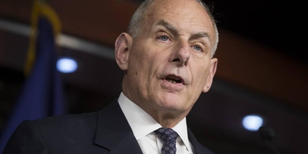 Donald Trump nombra jefe de Gabinete a secretario de Seguridad, John Kelly
