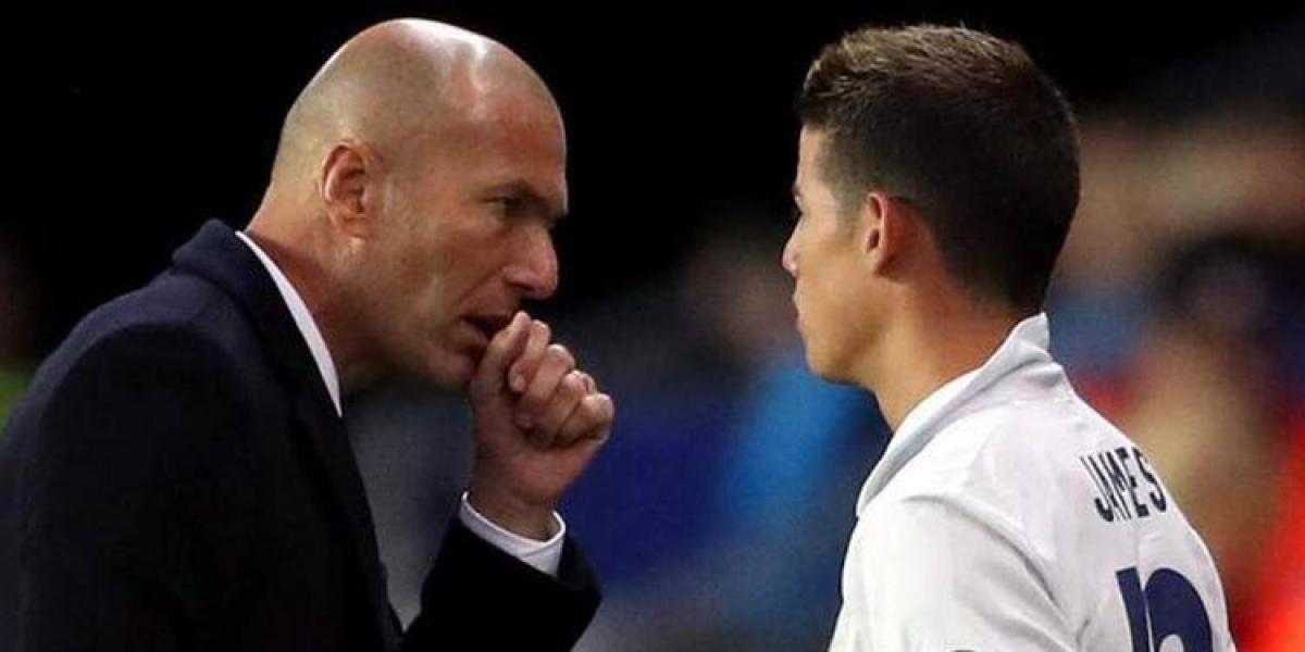 Culpan a Zinedine Zidane de la separación de James y Daniela Ospina