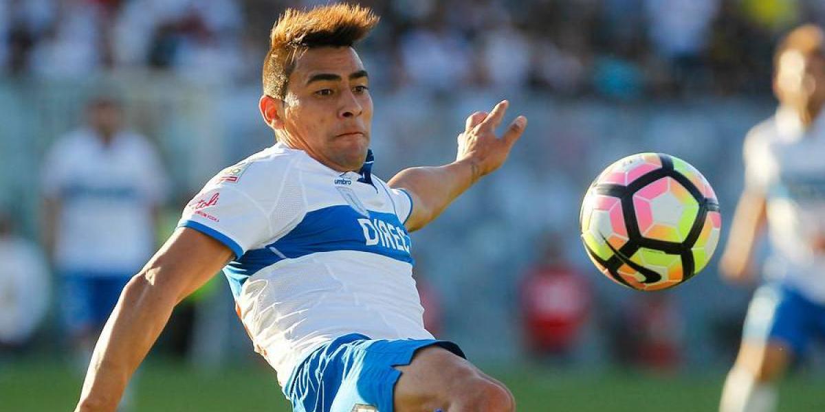 """En la UC confían en la calidad de David Llanos: """"Cada vez que entra hace goles"""""""