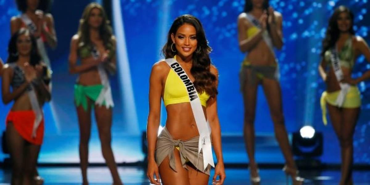 Ex Miss Colombia muestra su embarazo