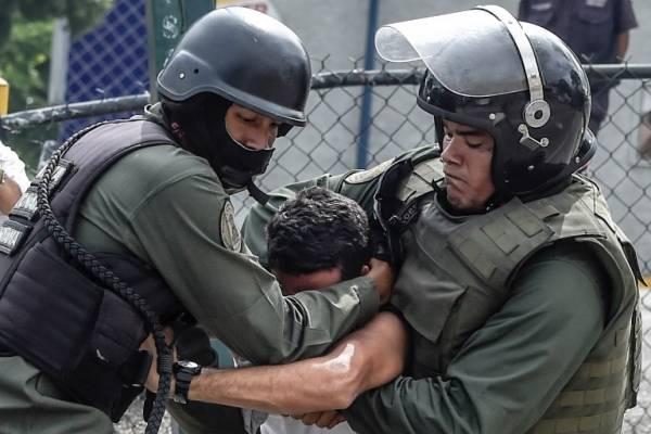 Represión a manifestantes