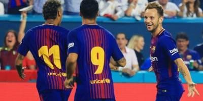 Ivan Rakitic marcó un gol ante el Madrid