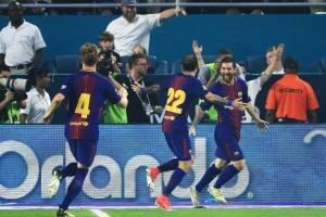 Otro gol de Messi en clásico