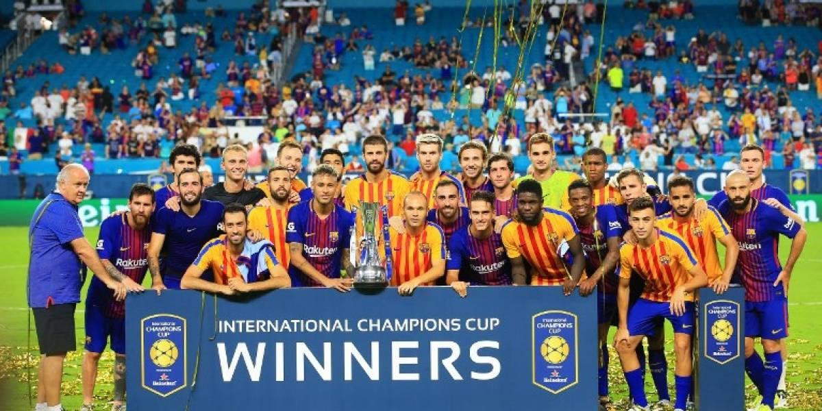 Video. Barcelona gana el clásico español en Estados Unidos