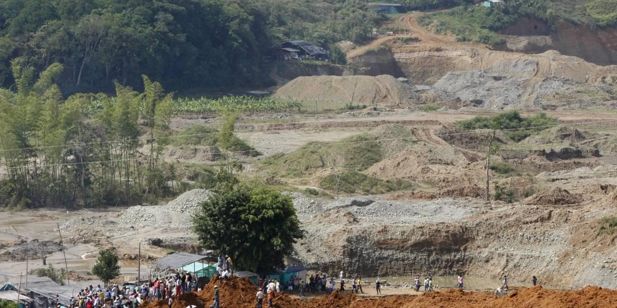 Tragedia de mina en Antioquia deja seis muertos