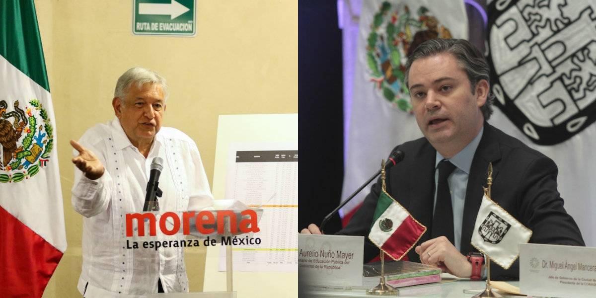 AMLO y Aurelio Nuño protagonizan pelea en Twitter