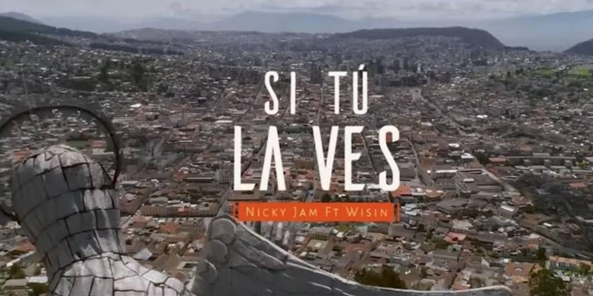 Extranjeros reaccionan a video 'Si tú la ves' grabado en Ecuador