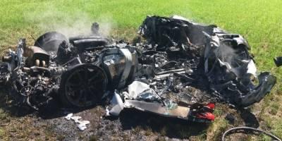 Conductor destruye Ferrari una hora después de que lo compró