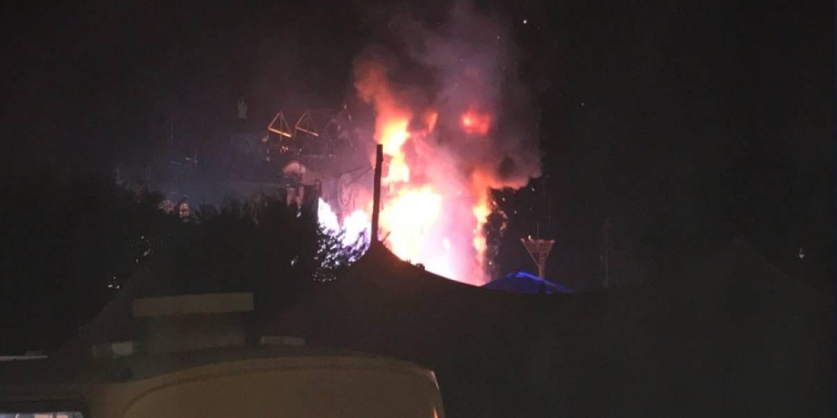 Incendio en concierto Tomorrowland provoca pavor y desalojan a unas 22.000 personas