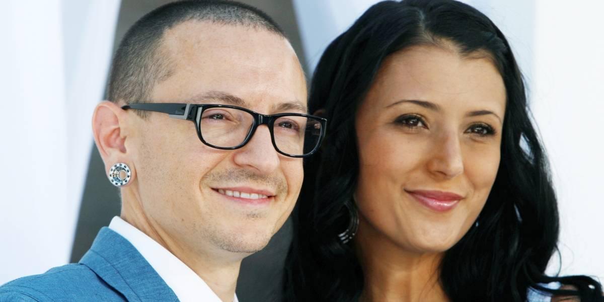 """""""Tuvimos una historia de cuento de hadas"""": Habla la Viuda de vocalista de Linkin Park"""