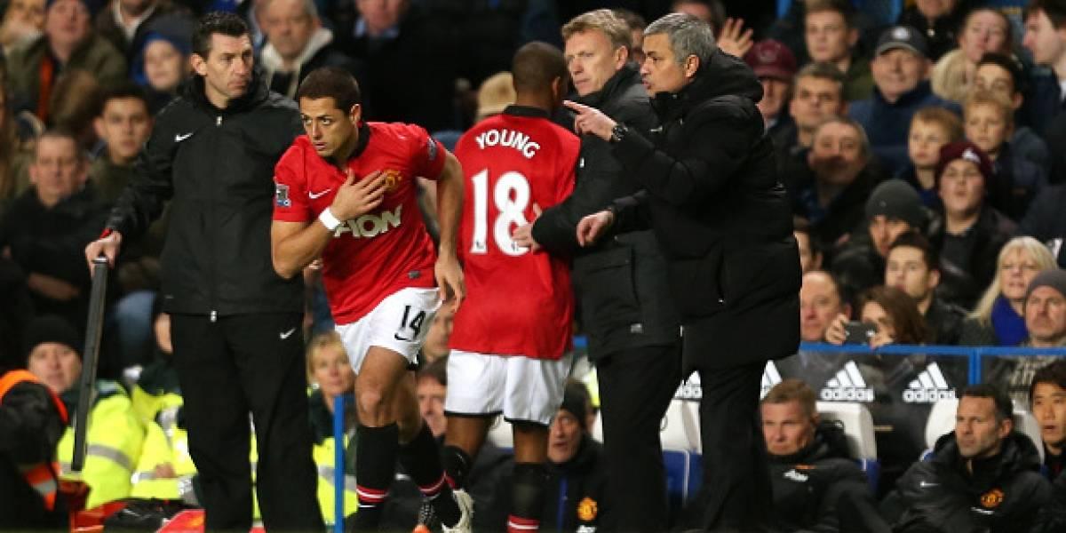 'Chicharito' agradece a José Mourinho por los halagos