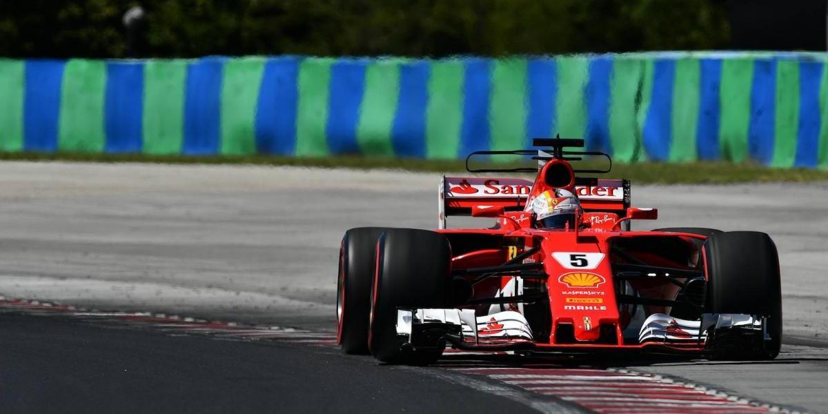 Ferrari domina las prácticas del GP de Hungría, 'Checo' quedó eliminado