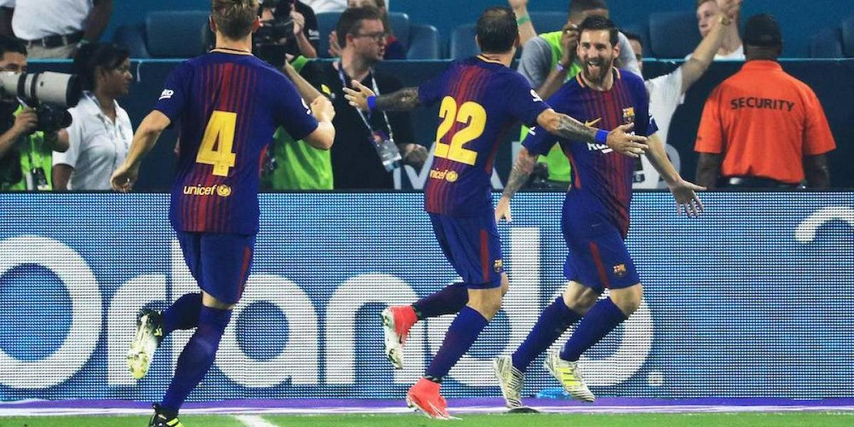 Barcelona vence al Real Madrid en Estados Unidos