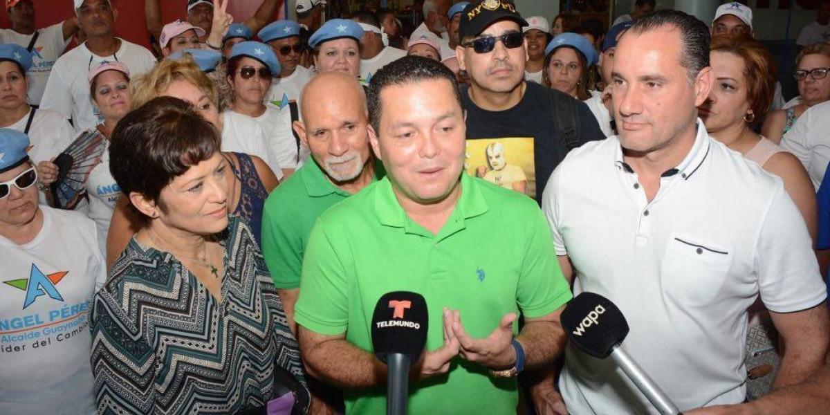 Exesposa de Ángel Pérez repudia campaña sucia en Guaynabo