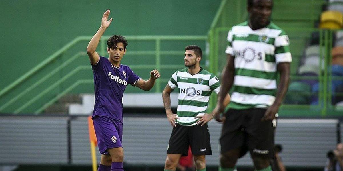 Matías Fernández fue ovacionado en partido entre Sporting de Lisboa y Fiorentina