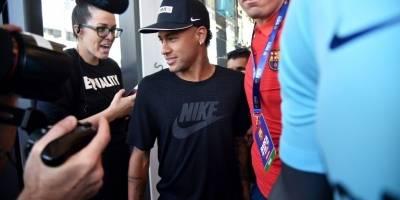 Neymar sigue dando de qué hablar