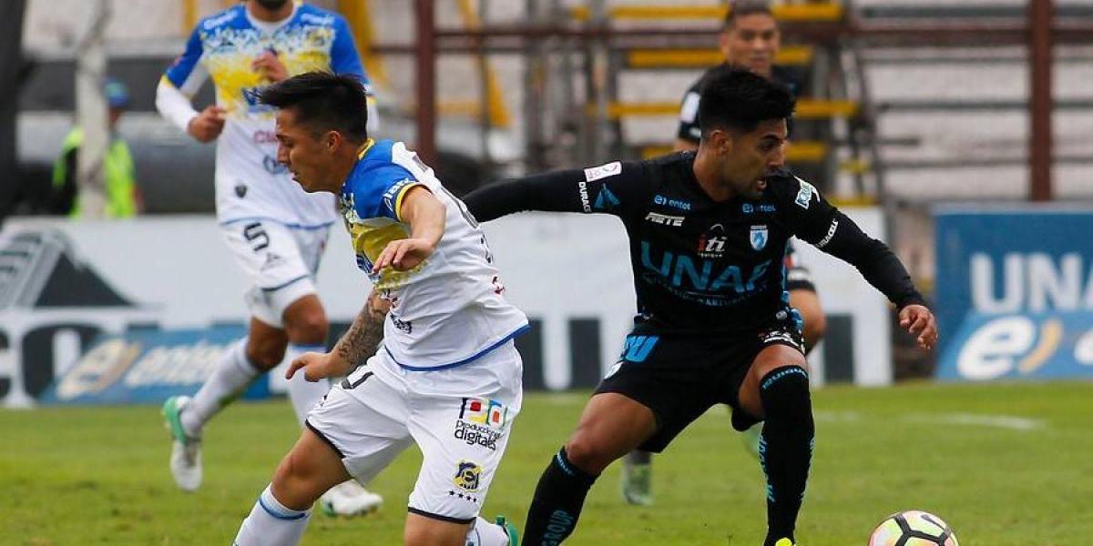 En Directo: Everton sorprende a Deportes Iquique y lo vence en Cavancha