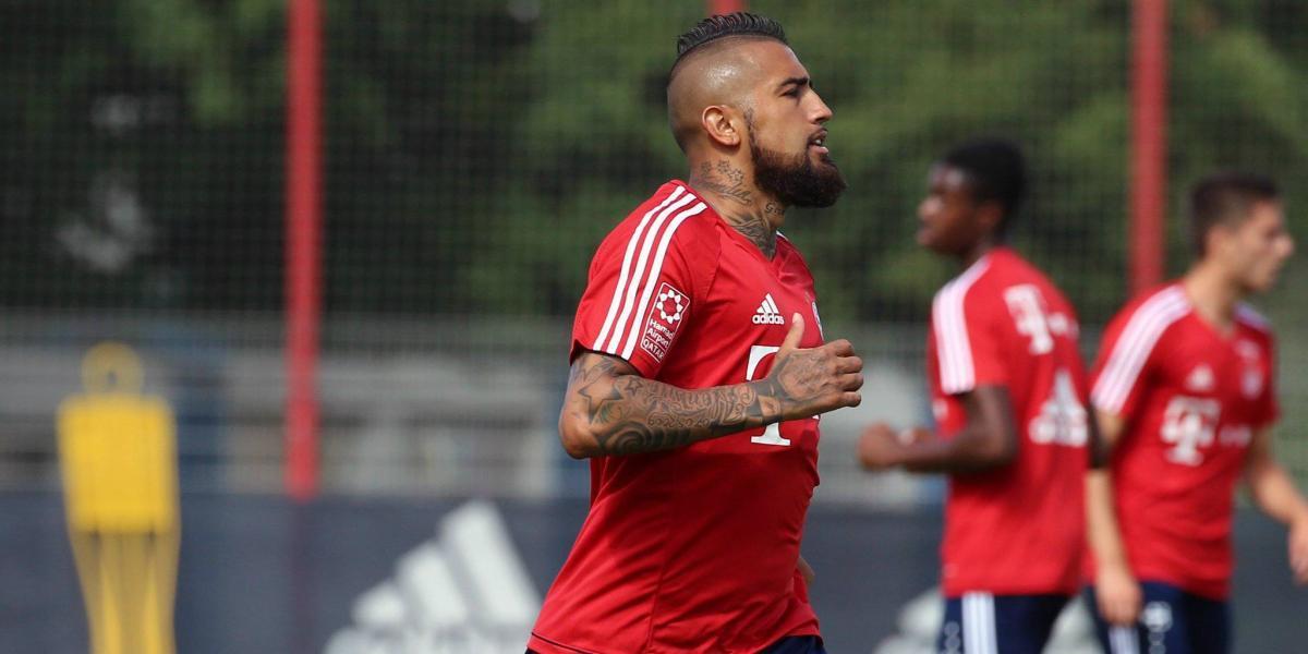 Volvió el Rey: Arturo Vidal se reintegró a los entrenamientos del Bayern Munich