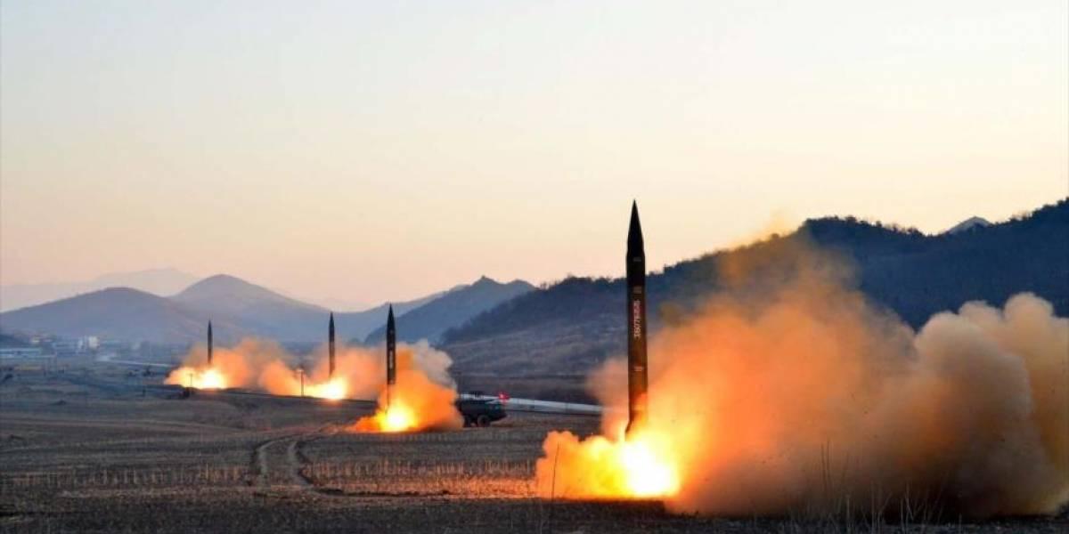 """Corea del Norte afirma que último ensayo de misil es una """"advertencia"""" a Estados Unidos"""